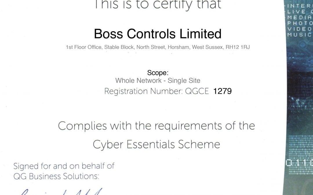 Boss Controls is Cyber Secure