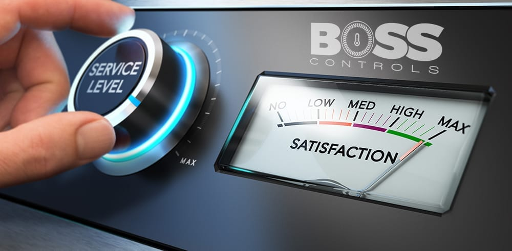 Boss Controls Ltd has been audited and found to meet the requirements of standardISO 9001:2015 Quality Management SystemScope of certificationBMS systems - building controls - installation, servicing and energy monitoring.
