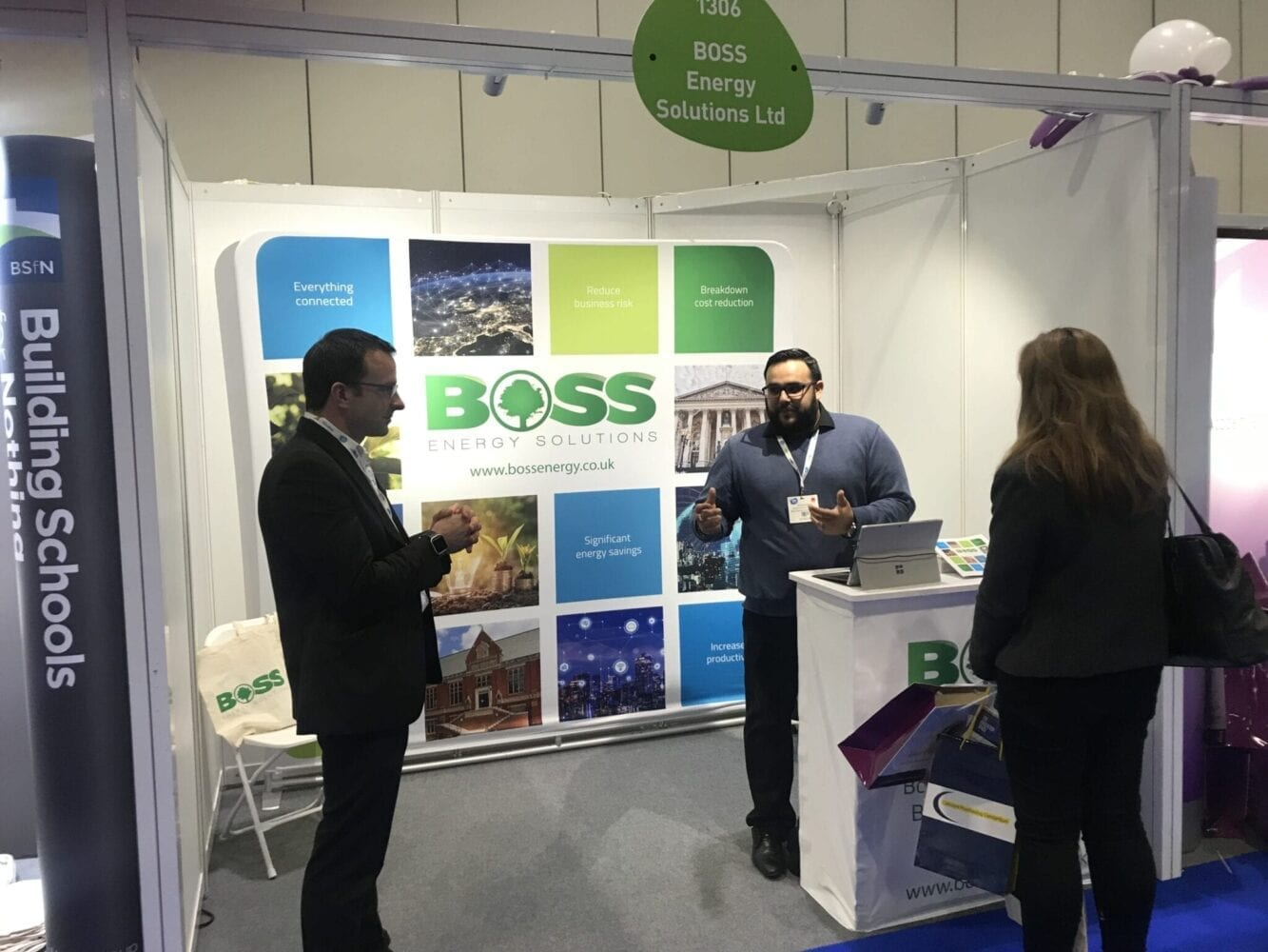 Boss Controls at The Academies Show