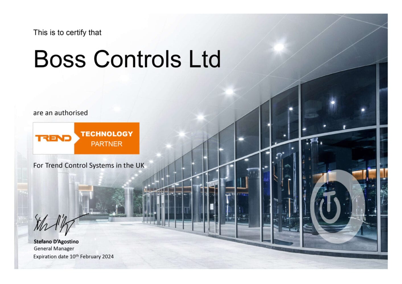 Boss Controls is a Trend Technology Partner